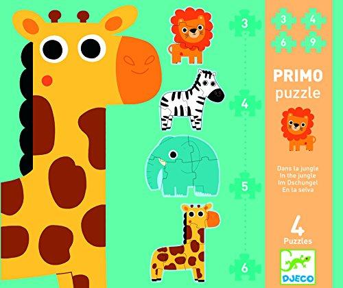 Mein erstes Puzzle 'Dschungeltiere' von Djeco