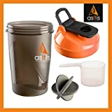 AS-IT-IS Protein Shaker Bottle With Scoop (30g)& Mixer Ball
