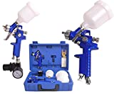 Best Home Paint Sprayers - Costway HVLP Air Gravity Spray Paint Gun Set Review