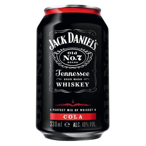 12 Dosen a Jack Daniels Daniel´s & Cola a 0,33L 10{9b58e4c96810aa74dd54612255114abb94e399f40be2e3aef4bbdc9b65a65180} Vol. Dose inc.3.00€ EINWEG Pfand