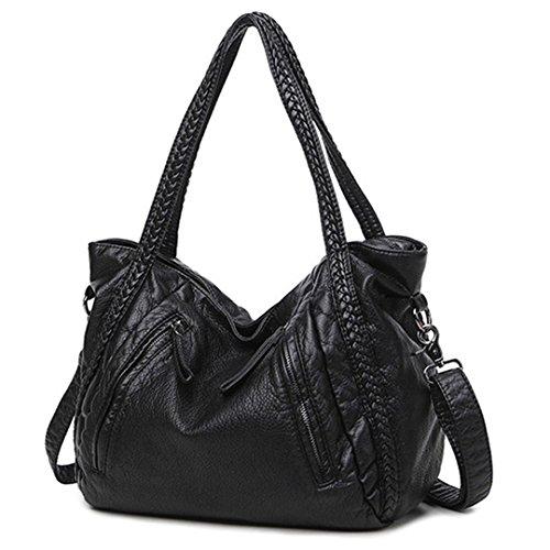Großes, weiches Leder Tasche Damen Handtaschen Damen Crossbody Taschen für Frauen Umhängetaschen weibliche Große Tote Sac A Main berühmte Schwarze Kleine Größe