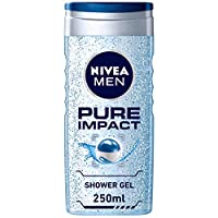 NIVEA, MEN, Shower Gel, Pure Impact, 250ml