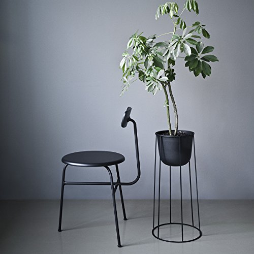 Menu 4774539 Blumen-/Pflanztopf, Metall, schwarz, 23 x 23 x 17 cm - 5