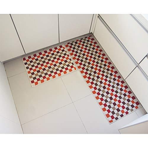 Tappeto per la casa e la cucina, moderno, in gomma antiscivolo ...