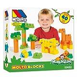 MOLTO - Activity Blocks Zoo, 40 Piezas (15452)