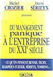 Image de Du management panique à l'entreprise du XXIe siècle