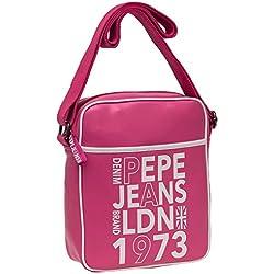 Pepe Jeans Denim Bandolera Grande, Color Rosa