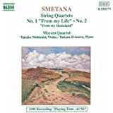 Smetana Streichquartette 1 und 2 Franova