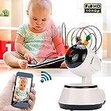 EisEyen WiFi Überwachungskamera HD 720P Wireless IP Kamera Baby Haustier Alter Monitor Sicherheitsüberwachung Bewegungserkennung