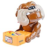 Enlarge toy image: TurnRaise Funny Parent Child Games Beware Of The Dog Dont Wake The Dog Toys, Funny Electronic Pet Dog Toys Bad Dog Gnaw Bones(ABS) (Bad Dog)
