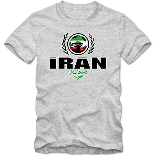 hot sale online 5f1b0 84a3e Football Iran V2 T-Shirt | Football Vs. Soccer | Men ...