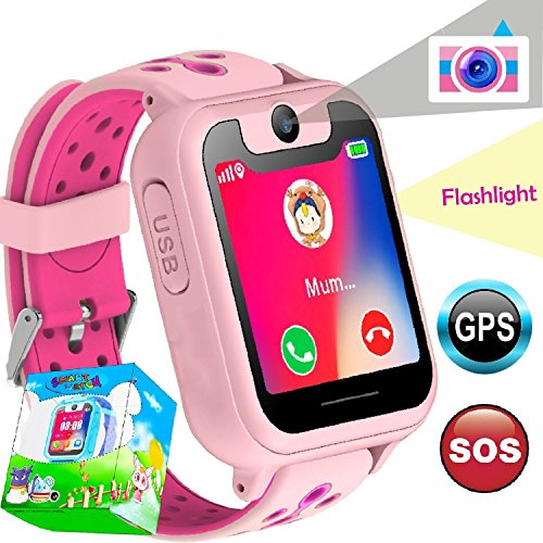 TURNMEON GPS Tracker Smartwatch...
