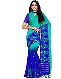 [Sponsored]Mimosa By Kupinda Women's Crepe Saree Kanjivaram Style (Latest Designer Sarees /Party Wear Sarees /New Collection...