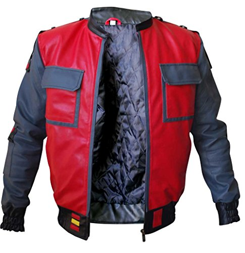 eGenius Herren Daunenjacke Jacke rot rot Gr. M, rot