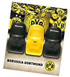 Borussia Dortmund Sofaüberzug / Tagesdecke / Couchschoner / Decke - Trainerbank BVB 09 - plus gratis Aufkleber forever Dortmund