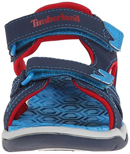 Timberland Active Casual Sandal Ftk_adventure Seeker 2 Strap Sandal, Sandales ouvertes mixte enfant Bleu (Blue)