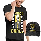 Photo de ytuytiutfi Dance Gavin Dance pour des Hommes T-Shirt & Hat Cotton T-Shirt & Denim Casquette (Baseball Hat) par ytuytiutfi