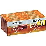 Sony miniDV Cassette HD 10DVM60PR - Pack de 10