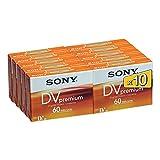 Sony Videokassette miniDV 60 min 10er Set