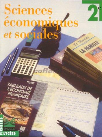 Sciences économiques et sociales, édition 1995. Seconde
