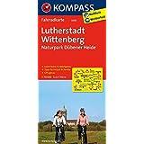 Lutherstadt Wittenberg - Naturpark Dübener Heide: Fahrradkarte. GPS-genau. 1:70000 (KOMPASS-Fahrradkarten Deutschland, Band 3045)