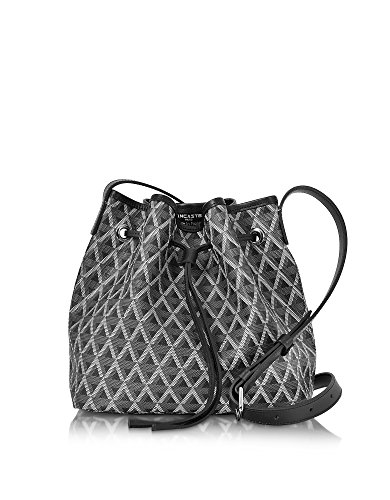 lancaster-paris-womens-41801noir-black-canvas-shoulder-bag