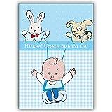 20 Baby Karten (Junge):