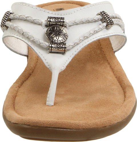 Minnetonka Silverthorne Thong Womens Blanc