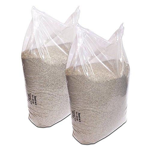 Streusand 2 x 25Kg Quarz-Sand 0,4-0,8 mm Körnung