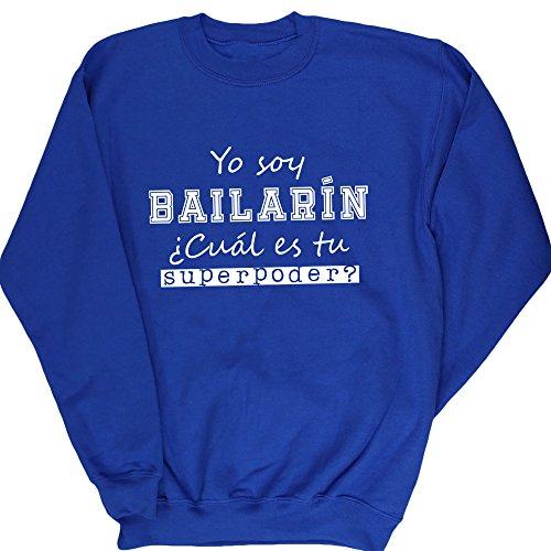 HippoWarehouse Yo Soy Bailarín, ¿Cuál es tu Superpoder? jersey sudadera suéter derportiva unisex niños niñas