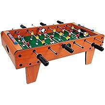 Tischfußball / Tischspiel aus Holz, Kicker-Tisch kann auf jeder Tischplatte platziert werden, für große und kleine Tischkicker-Fans ab 5 Jahre