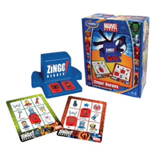 - Bingo with a Super Hero Zing (Zingo Bingo)