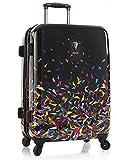 Koffer, Reisegepäck, Trolley by Heys - Premium Designer Hartschalen Koffer - Künstler Karim Rashid Super Nova Koffer mit 4 Rollen Medium