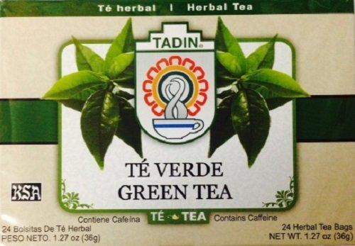 Tadin Green Tea 24 Bags - Te Herbal