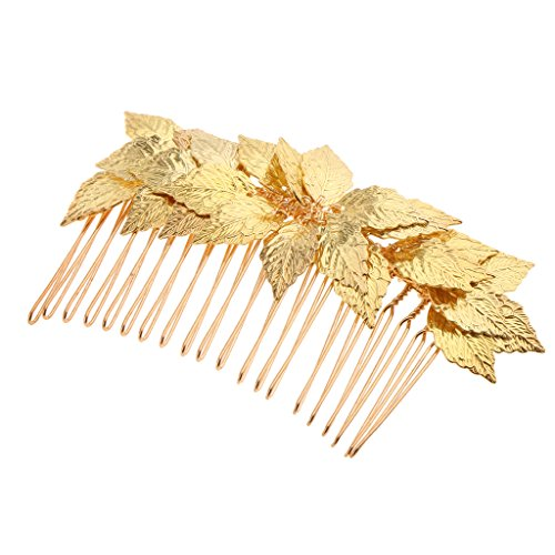 MagiDeal Kristall Haarnadeln, Kristall Tiara , Haarpins, Haarkamm,Haarklammer, Hochzeit Haarschmuck für Braut - Gold, 10x6.5cm (Mini-tiara Silber)