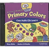 American English Primary Colors 4 Class Audio CDs
