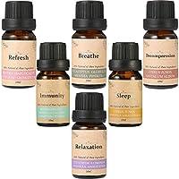 Essential Oils für Aromatherapie, Essort Aromatherapie öle Naturrein für Diffusoren 6 × 10 ml ätherische öle Orange... preisvergleich bei billige-tabletten.eu