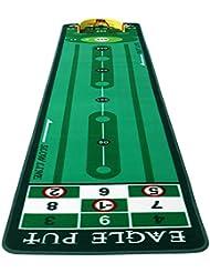 TT Práctica de putter Práctica de práctica de golf para interiores Suede Putt Práctica de manta larga de 300 cm ( Tamaño : 90*300cm )