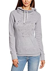 Urban Surface Urban Surface Sweat, Weiter Kragen + Kapuze - Sweat-shirt à capuche - Manches longues - Femme