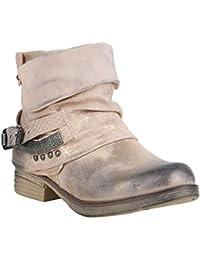 Stiefelparadies Damen Stiefeletten Biker Boots Gefüttert Flandell 6a574149d3