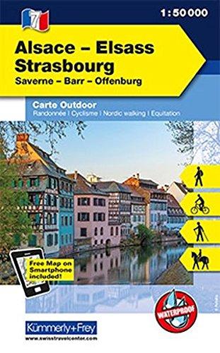 Alsace - Strasbourg 07 k&f r/v wp FMS scale: 1/50 par Kummerly & Frey AG