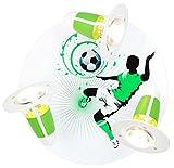Elobra Strahler Rondell Soccer, 3 flammig ELO-127957