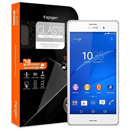 Spigen Schutzfolie für Sony Xperia Z3 Glas