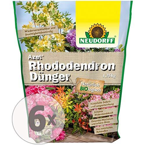 Gardopia Sparpaket: Neudorff Azet Rhododendron Dünger 6 x 1,75Kg