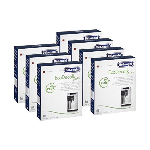 7x DELONGHI EcoDecalk Entkalker Mini (á 2x 100 ml)