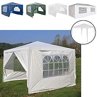 AutoBaBa Gartenpavillon, wasserfest, Festzelt mit Stahlstangen, robuste Ausführung