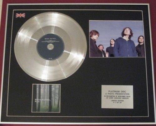 Snow Patrol-Platin CD Einfach + Foto-Run -
