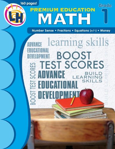 Math: Grade 1 (Premium Education Workbooks)