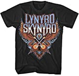 Lynyrd Skynyrd Guitars Eagle Logo Rock offiziell Männer T-Shirt Herren (X-Large)