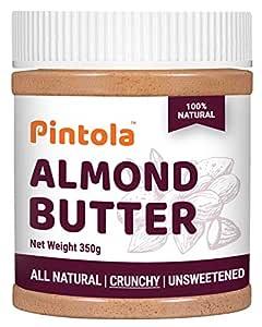 All Natural Almond Butter (Crunchy) (350g)